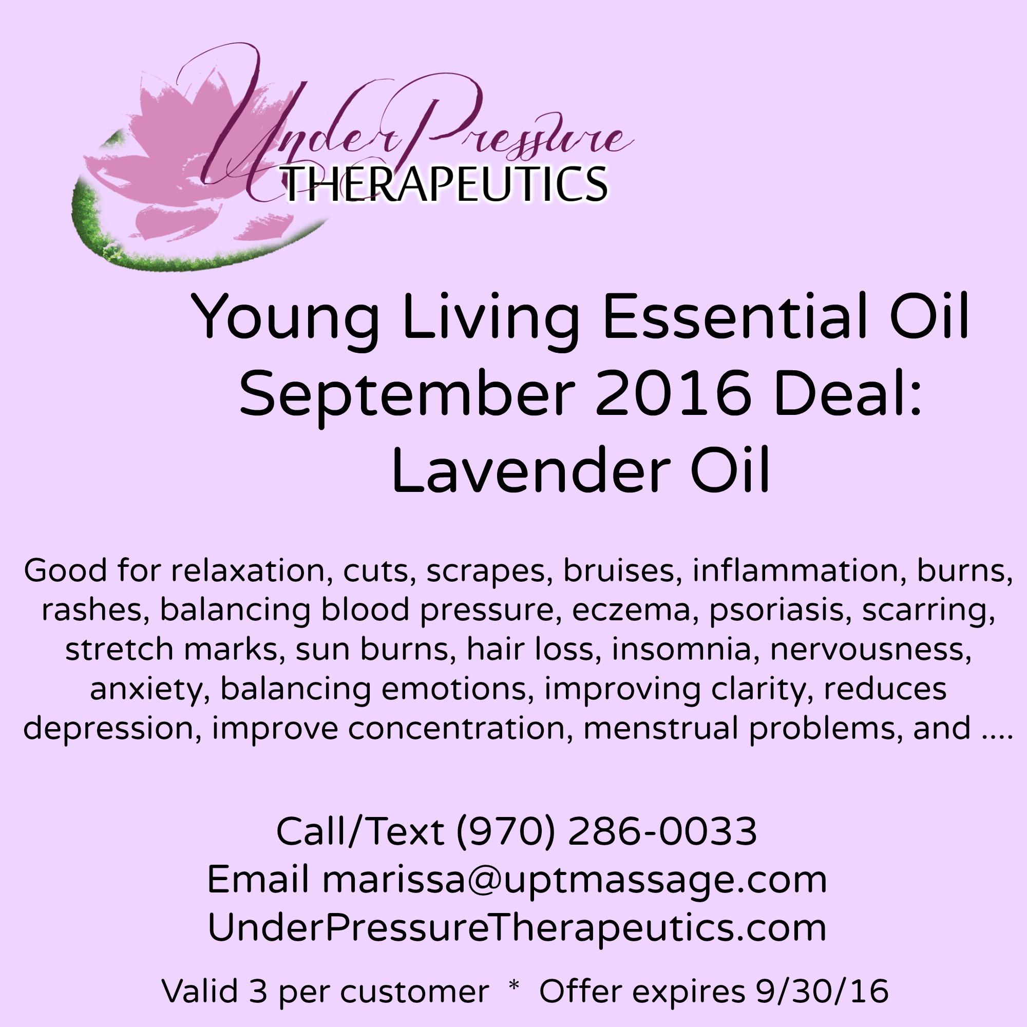 UPT Lavender Deal